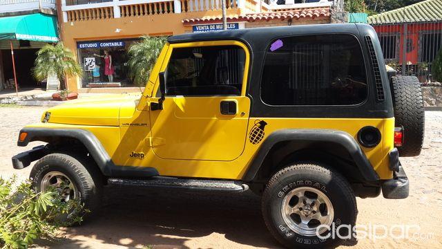 Vendo Jeep Wrangler Ano 2000 740629 Clasipar Com En Paraguay