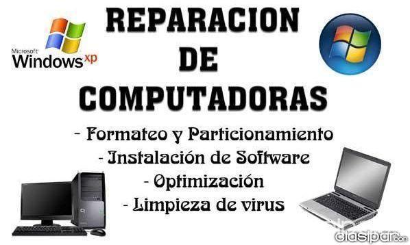 Servicio Técnico Y Mantenimiento De Computadoras A Domocilio 115225 Clasipar Com En Paraguay