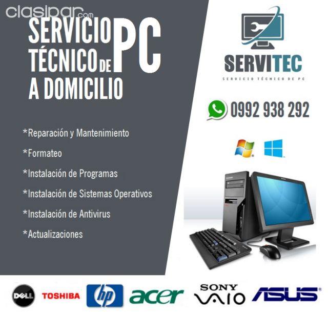 Reparacion Mantenimiento De Computadoras Servicio Tecnico A Domicilio 1033793 Clasipar Com En Paraguay